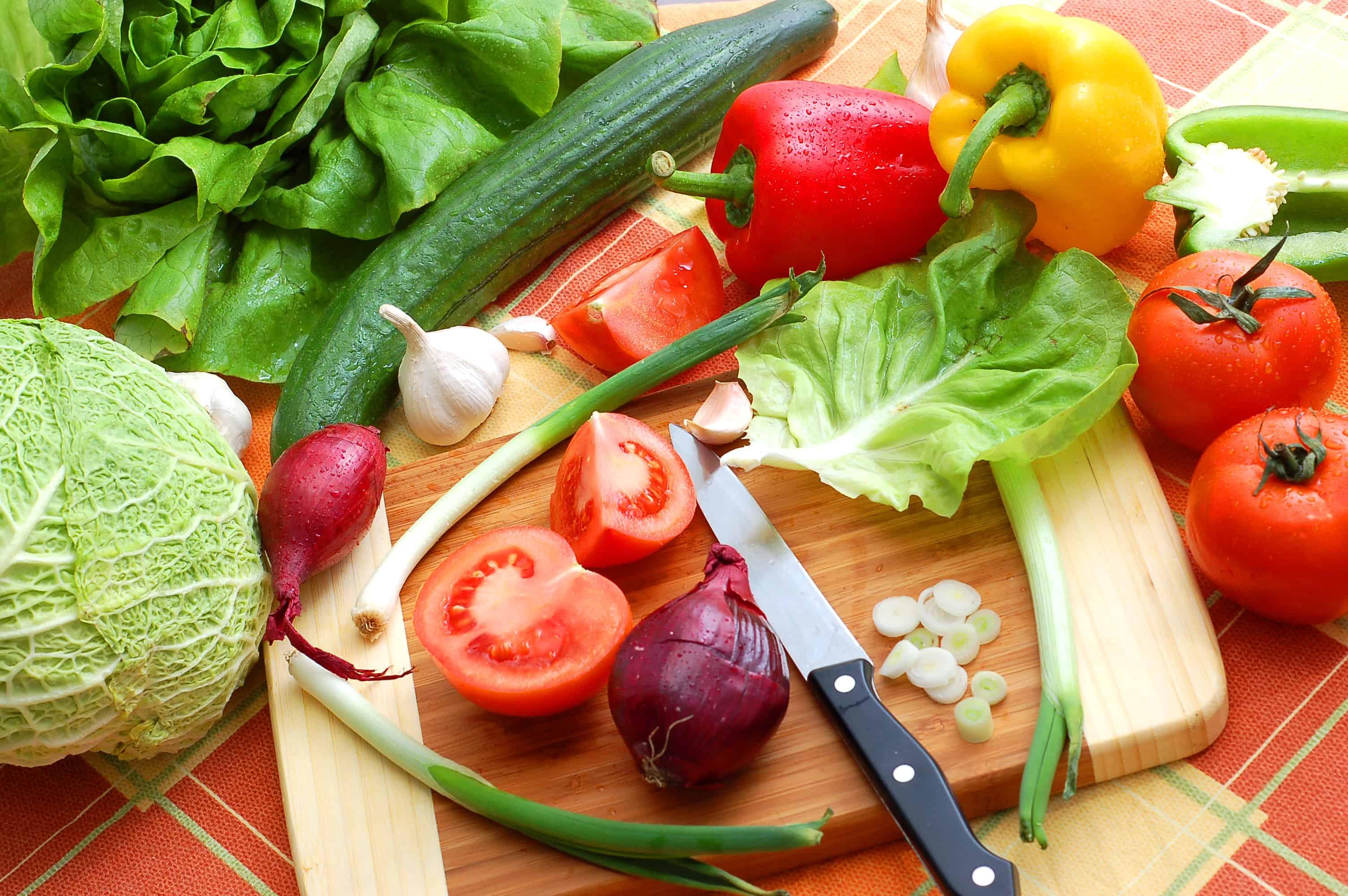 organic vegetables