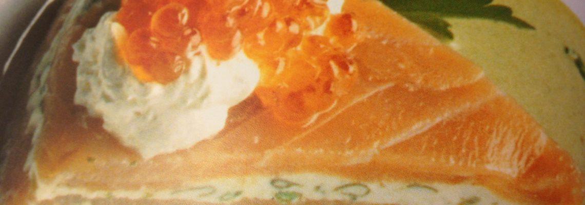 Salmon And Cream Cheese Layered Tart Recipe