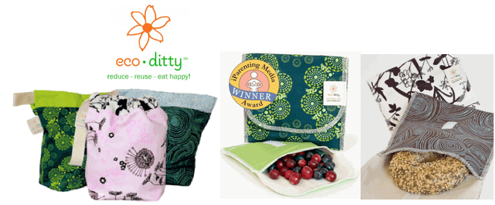 eco ditty cotton lunch bags