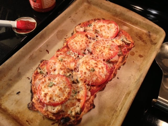 Crust-drizzled-with-cheese-Gluten-Free-Pizza