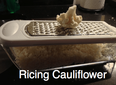 Gluten Free Pizza Recipe And A Lesson In Ricing Cauliflower #RecipeIdeas