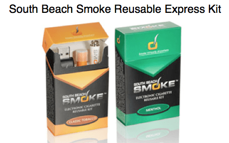 South-Beach-Smoke-Electronic-Cigarette-Reusable-Express Kit