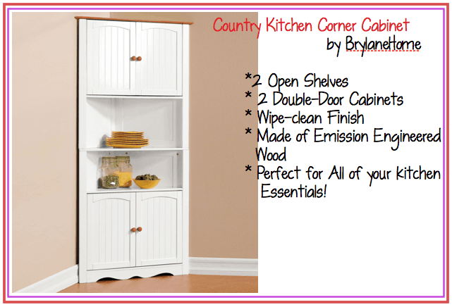 Country Kitchen Corner Cabinet | Country Kitchen Collection ...