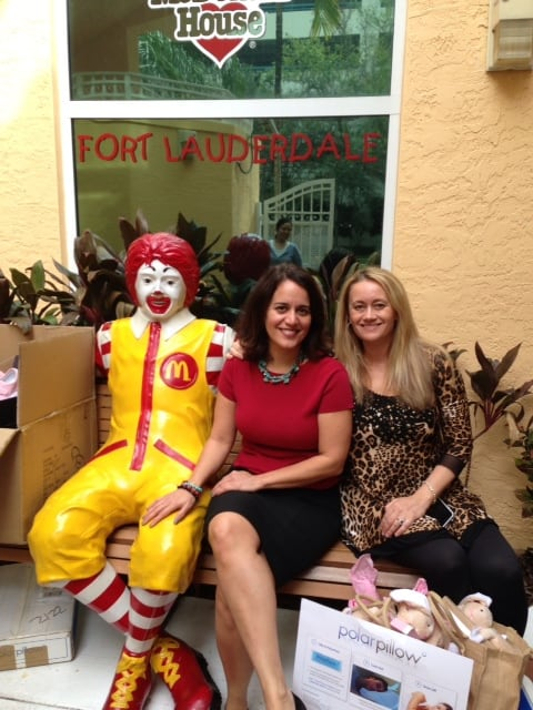 SorayaRivera-RonaldMcDonald-Florida-with-CelebrateWomanToday-blogger-polar-pillow