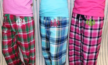 Monogrammed-sleepwear-pajamas