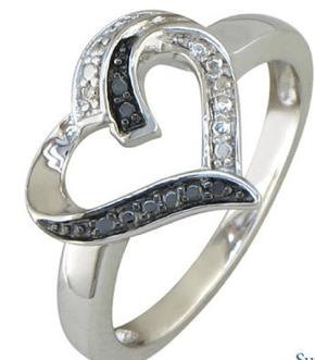 Black-and-White-Diamond-Heart-Ring