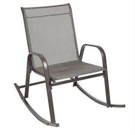 ExtraWide Outdoor Rocking Chair