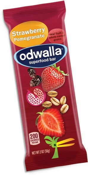 Win odwalla strawberry pomegranate superfood bars to last for Superfood bar