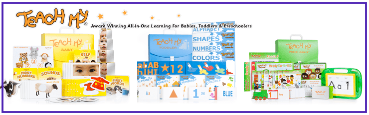 teach my all in one kits for baby, toddler, preschooler