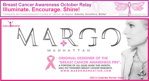 MargoManhattan BreastCancerAwareness Relay Margo Manhattan The Original Pink Ribbon Designer #standstrong #breastcancerawareness