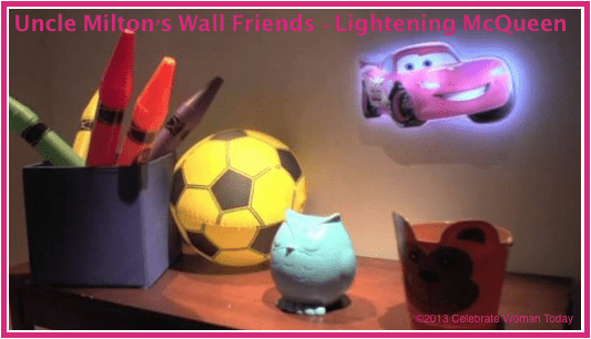 Wall Friends by Uncle Milton Introduces Lightening McQueen