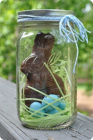 Easter Mason Jar candy