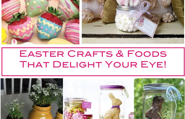 5 Easy DIY Craft Ideas With Mason Jar for Easter Season