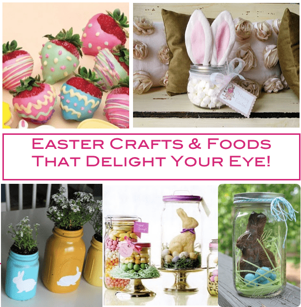 Easter Mason Jar RoundUp Crafts Top 5