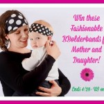 fashionalbe headbands for mom and daughter
