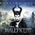 Angelina Jolie in Disney Maleficent Banner