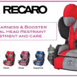 RECARO Performance Sport Carseat in Redd