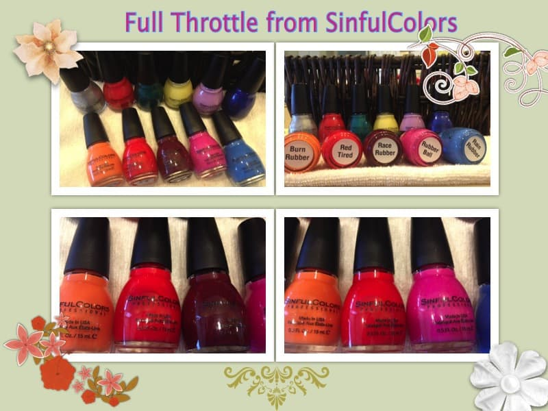 Full Throttle SinfulColors NailPolish Collection