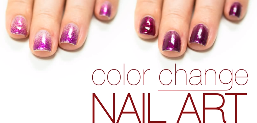 DelSol Nail Art Tutorial for Color Purple