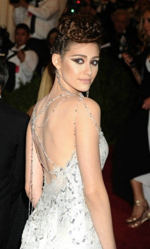 Braided Hair Emmy Rossum