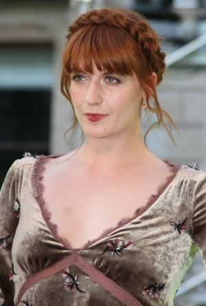 Braided Hair Florence Welch