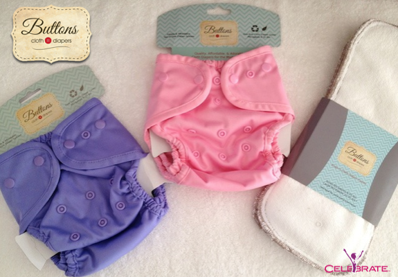 Soft Buttons Diapers For Babies Bums