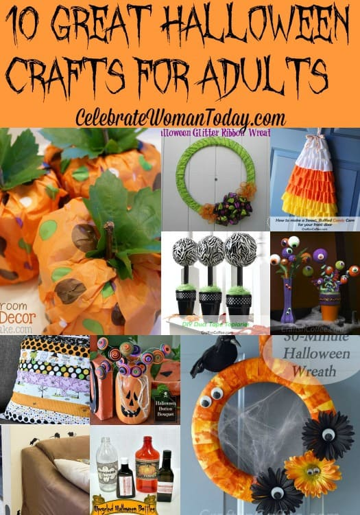 Pinterest Halloween Crafts for Adults