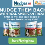 nudges dog food