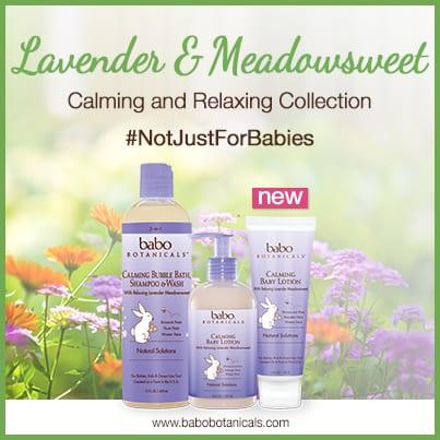 Babo Botanicals Lavender Collection