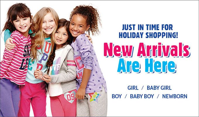 Childrens Place 50% OFF + Free Shipping Sale
