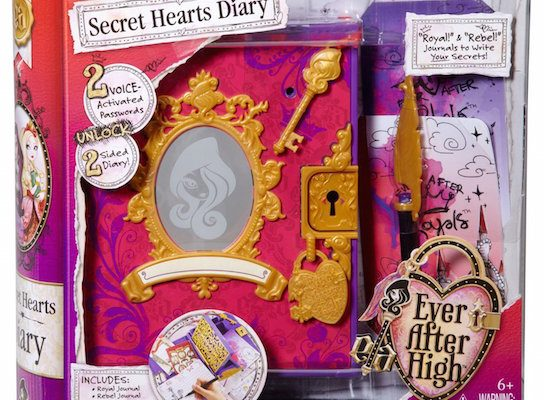 Ever After High Secret Hearts Password Journal #BlackFriday Deal