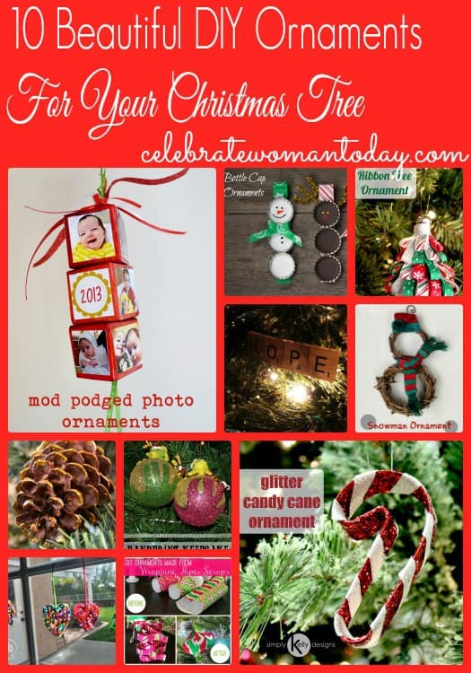 10 beautiful diy holiday ornaments for your christmas tree for Beautiful diy christmas ornaments