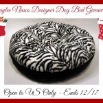 Baylee Nasco Deisgner Dog Bed