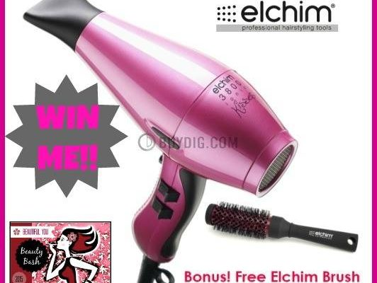 Elchim Hairdryer + Elchim Brush Giveaway