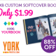 Order your 8X8 Custom Softcover Photo Book from York Photo
