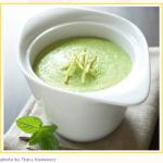 Mint Edamame Soup Recipe