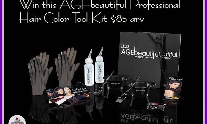 AGEbeautiful Professional Color Kit Giveaway ‪#‎Beautybash2015