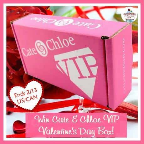 Cate and Cloe VIP Valentiens Day Jewelry Box