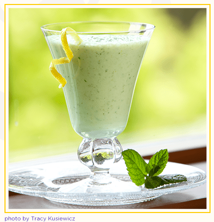 Recipe Minty Lemon Lassi-1