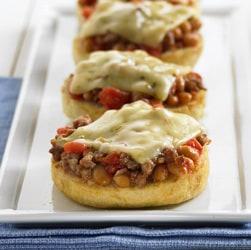 Beany Mini Pizzas Recipe