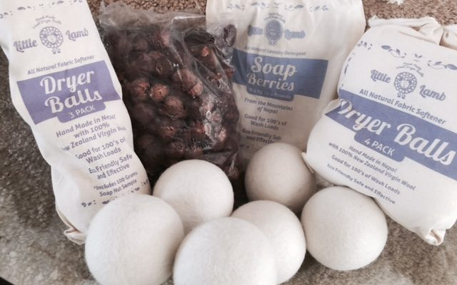 Dryer Balls And Soap Nuts Are A Perfect Solution to Softer Laundry