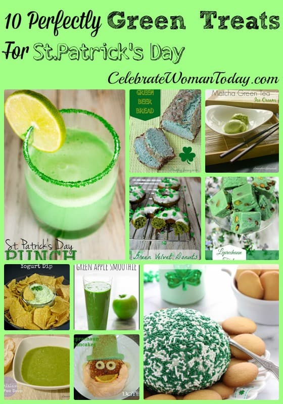 10 Perfectly Green Treats For St.Patrick's Day