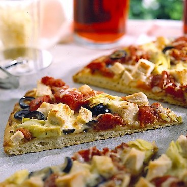 Artichoke Turkey Pizza – #RecipeIdeas