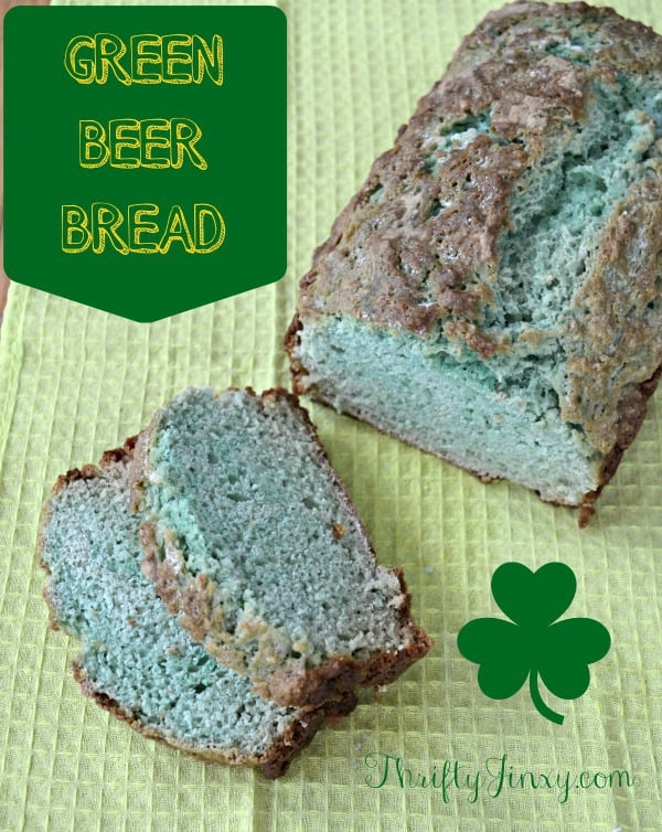10 Best Easy St. Patrick's Day Desserts And Treats Recipes, green beer bread
