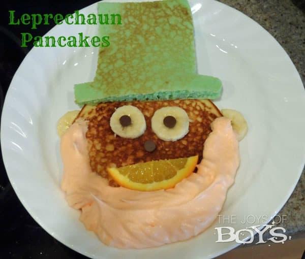 10 Best Easy St. Patrick's Day Desserts And Treats Recipes, leprechaun pancakes
