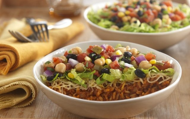 Try Mexican Flavors With Bean Burrito Bowl #RecipeIdeas