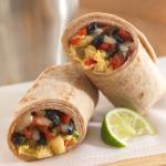 Southwestern Breakfast Burritos #Recipe – Add Fiber Protein With Beans