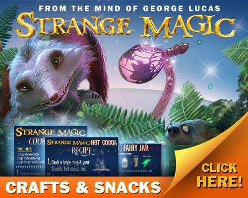 Strange Magic Crafts & Snacks Recipes