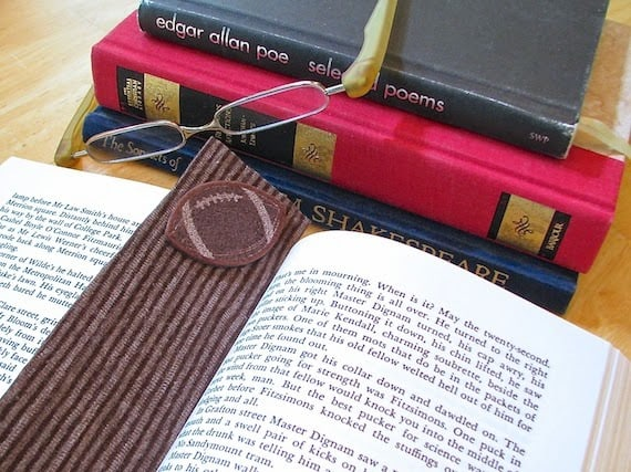 fabric book mark