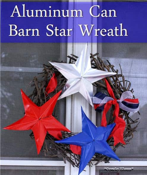 tin can wreath